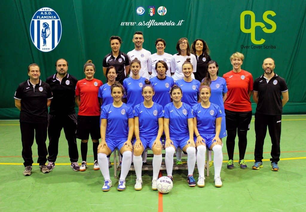 Over Cover Scriba - Squadra Flaminia Calcio Femminile