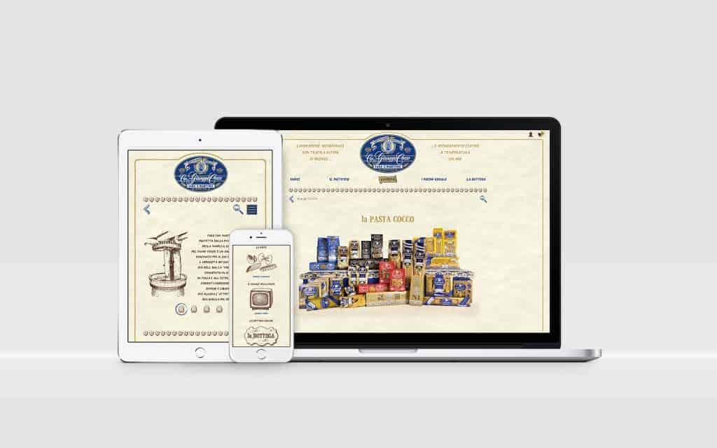 Sito Web Shop online - Pastificio Cocco